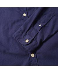 Oliver Spencer - Blue New York Special Shirt for Men - Lyst