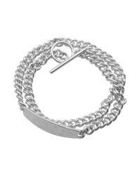 Maison Margiela - Metallic 11 Id Ring Bracelet - Lyst