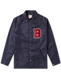 Battenwear - Blue Patch Beach Breaker Jacket for Men - Lyst