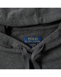 Polo Ralph Lauren - Gray Sleepwear Popover Hoody for Men - Lyst