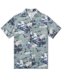 Lanvin - Green Hawaiian Dino Vacation Shirt for Men - Lyst