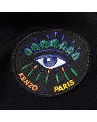 KENZO - Black Eye Scarf for Men - Lyst