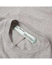 Off-White c/o Virgil Abloh - Multicolor Long Sleeve Basic Tee - 3 Pack for Men - Lyst