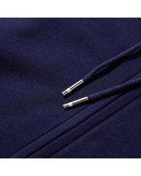 Lacoste - Blue Full Zip Hoody for Men - Lyst