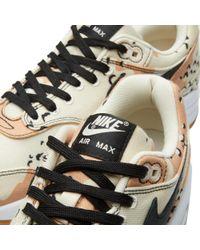 Nike Brown Air Max 1 Premium for men