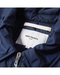 Norse Projects - Blue Elliot Nylon Jacket for Men - Lyst