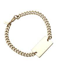 A.P.C. - Metallic Lord Bracelet for Men - Lyst