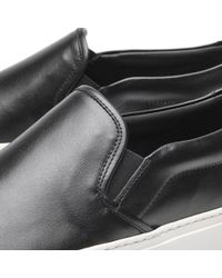 Common Projects - Black Slip On Perforated - Lyst