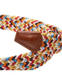Andersons - Multicolor Anderson's Woven Textile Belt for Men - Lyst