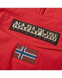 Napapijri - Red Rainforest Jacket for Men - Lyst
