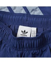 Adidas - Blue V Stripes Pant for Men - Lyst