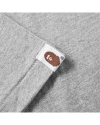A Bathing Ape | Gray City Camo Big Ape Head Tee for Men | Lyst