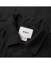 (w)taps - Black Jungle Shirt for Men - Lyst