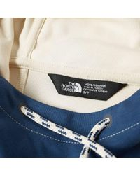 The North Face - Blue Fine Box Hoody for Men - Lyst