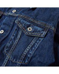 Denim by Vanquish & Fragment - Blue Inside Print Denim Jacket for Men - Lyst