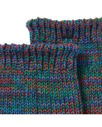 Anonymous Ism - Blue 5 Colour Mix Crew Socks for Men - Lyst