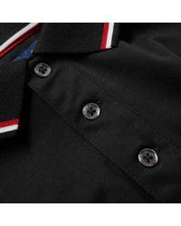 Polo Ralph Lauren - Black Long Sleeve Rwb Tipped Polo for Men - Lyst