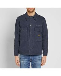 Neighborhood - Blue Military Utility Shirt for Men - Lyst