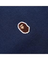 A Bathing Ape | Blue Ape Head One Point Tee for Men | Lyst
