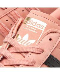 Adidas - Pink Superstar 80s Decon W - Lyst