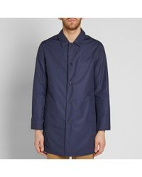Norse Projects - Blue Thor Technical Poplin Jacket for Men - Lyst
