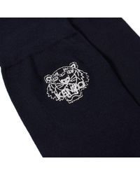 KENZO - Blue Tiger Sock for Men - Lyst