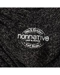Nonnative - Gray Dweller Line Sock for Men - Lyst