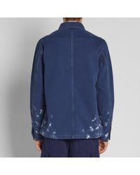 Acne - Blue Trucker Jacket for Men - Lyst