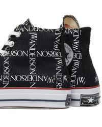 Converse - Black X Jw Anderson Chuck Taylor 1970s Hi for Men - Lyst