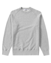 Velva Sheen - Gray Freedom Crew Sweat for Men - Lyst