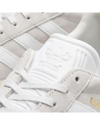Adidas - White Gazelle for Men - Lyst