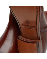 GRENSON - Brown Declan Chelsea Boot for Men - Lyst