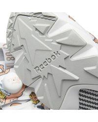 Reebok - White Instapump Fury La - Lyst