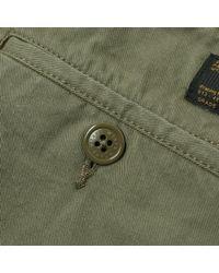 (w)taps - Green Cargo Short for Men - Lyst