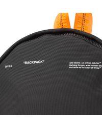 Off-White c/o Virgil Abloh - Black Tape Backpack for Men - Lyst