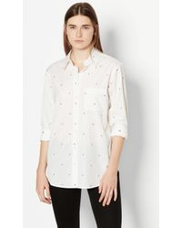 Equipment - White Kenton Cotton Shirt - Lyst