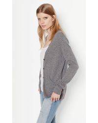 Equipment | Gray Sullivan Cashmere Cardigan | Lyst