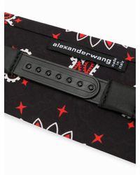 Alexander Wang - Black Asian Print Cotton Bandana Headband - Lyst
