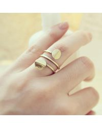 Erica Weiner - Metallic Orbit Spiral Ring - Lyst