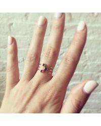 Erica Weiner - Green Pyramid Ring (emerald) - Lyst