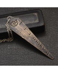 Erica Weiner - Metallic Colt Gun Gauge Necklace - Lyst