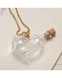 Erica Weiner - Metallic Large Glass Amphora Necklace - Lyst