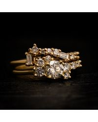 Erica Weiner - Multicolor Fairmined Diamond Cluster Band - Lyst