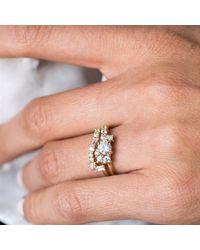 Erica Weiner - Metallic Fairmined Diamond Cluster Ring - Lyst