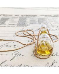 Erica Weiner - Metallic Perfume Diffuser Necklace - Lyst