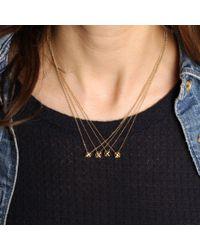 Erica Weiner - Blue Caged Sapphire Necklace - Lyst