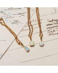 Erica Weiner - Metallic Golden Opal Shape Necklaces - Lyst