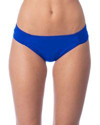 La Blanca | Blue Tab Side Hipster Bottom | Lyst