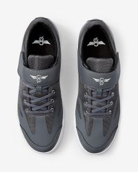 Express - Creative Recreation Bilotti Gray Low Top Sneakers for Men - Lyst