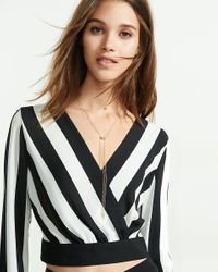 Express - Metallic House Of Harlow Bolo Necklace - Lyst